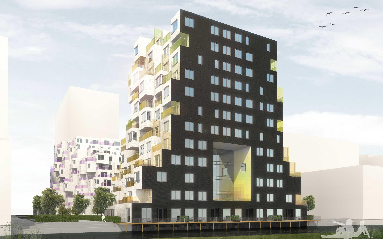 Zuidas bouwplantoetsing nieuwbouw project gerhwin for Find builders